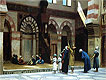 Prayer in the Mosque of Caid Bey in Cairo | Jean Leon Gerome