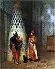 Before the Audience | Jean Leon Gerome
