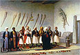 Prayer in the House of an Arnaut Chief | Jean Leon Gerome