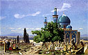 The Green Mosque at Broussa   Jean Leon Gerome