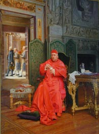 The Diet, undated by Jehan Georges Vibert | Painting Reproduction