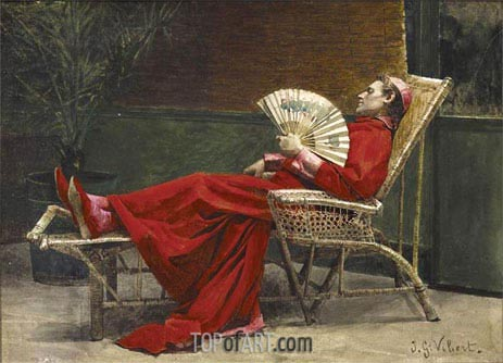 Jehan Georges Vibert | La Sieste, undated