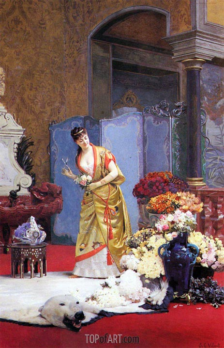 Jehan Georges Vibert | Autumn Flowers, undated