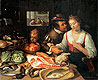 Kitchen Scene | Jeremias van Winghe