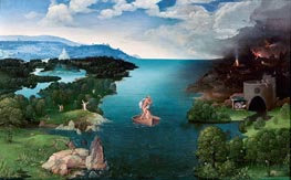 Charon Crossing the Styx, c.1520/24 by Joachim Patinir | Painting Reproduction