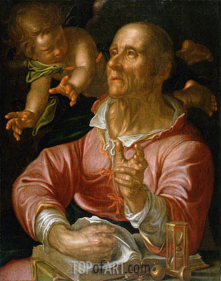 Saint Matthew, c.1616 | Joachim Wtewael | Painting Reproduction