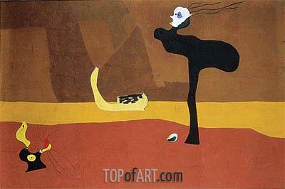Joan Miro | Paysage sur les bords du fleuve Amour, 1927