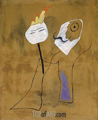 Joan Miro | Man and Woman, 1925