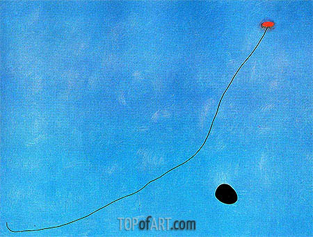 Blue III, 1961 | Joan Miro | Painting Reproduction