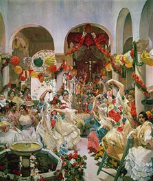 Seville | Sorolla y Bastida | Painting Reproduction
