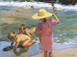 The Young Amphibians, 1903 by Sorolla y Bastida | Painting Reproduction