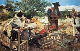 Valencian Scene, 1893 by Sorolla y Bastida | Painting Reproduction