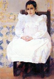 Maria, 1900 by Sorolla y Bastida | Painting Reproduction