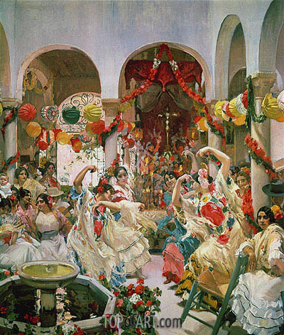Seville,  | Sorolla y Bastida | Painting Reproduction