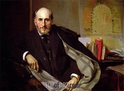 Sorolla y Bastida | Portrait of Santiago Ramon y Cajal, 1906