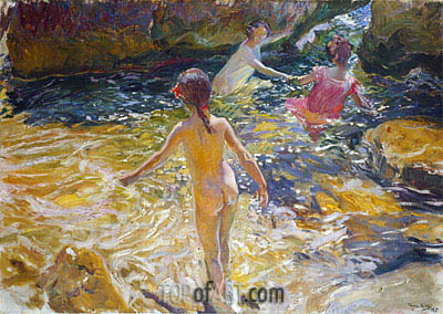 Sorolla y Bastida | The Bath, 1905