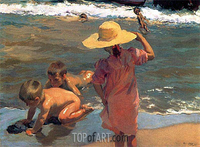 Sorolla y Bastida | The Young Amphibians, 1903