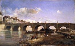 Le Pont de la Tournelle, Paris | Jongkind | Painting Reproduction
