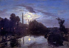 Moonlight | Jongkind | Painting Reproduction