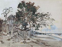 Landscape, St. Clair | Jongkind | Painting Reproduction