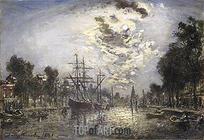 Jongkind | Rotterdam, 1881