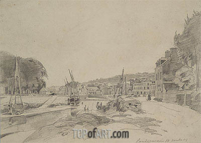 Landerneau, 1851 | Jongkind| Painting Reproduction