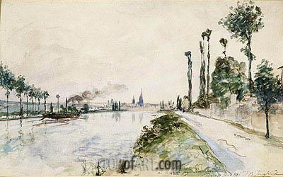 Jongkind | Rouen, 1863