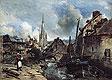 View of Harfleur | Johann Jongkind