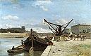 View of the Pont Royal, Paris | Johann Jongkind