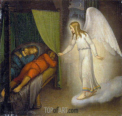 Overbeck | Joseph's Dream, 1810