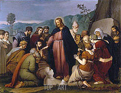 The Raising of Lazarus, 1808 | Overbeck| Painting Reproduction