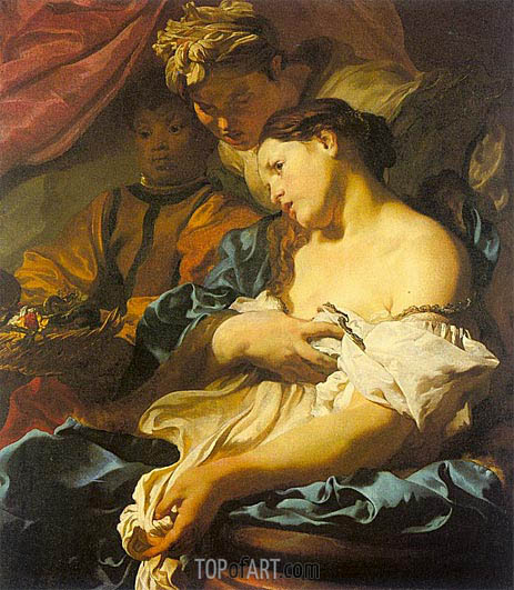 The Death of Cleopatra, c.1624/25 | Johann Liss | Painting Reproduction