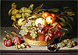 Still Life with a Basket of Fruit | Johannes Bosschaert