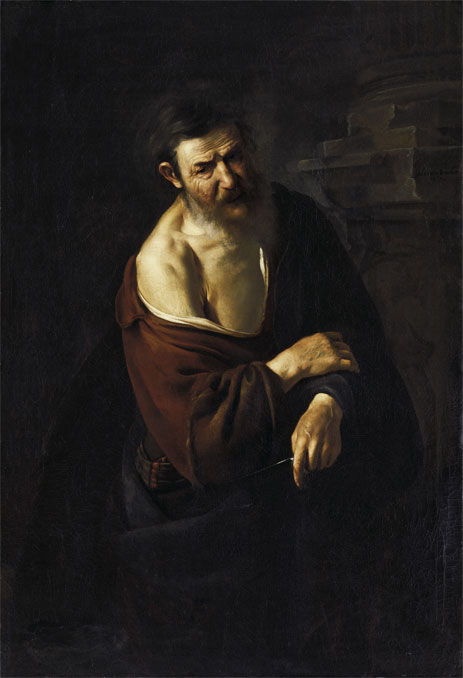 Saint Bartholomew, 1652 | Johannes van Bronchorst | Painting Reproduction