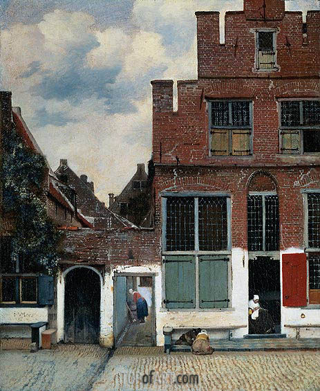 Vermeer | The Little Street, c.1657/58