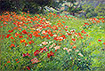 In Poppyland (Poppy Field) | John Ottis Adams