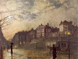 Hampstead, 1881 by Grimshaw | Painting Reproduction