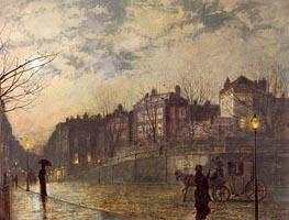 Hampstead, 1881 von Grimshaw | Gemälde-Reproduktion