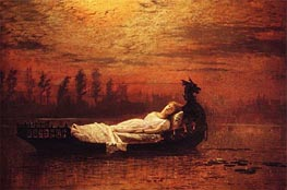 The Lady of Shalott | Grimshaw | outdated