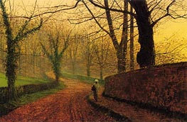 Stapleton Park near Pontefract | Grimshaw | Painting Reproduction