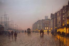 Liverpool from Wapping | Grimshaw | Gemälde Reproduktion