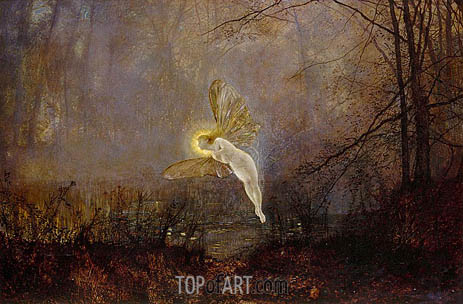 Midsummer Night, 1876 | Grimshaw | Gemälde Reproduktion