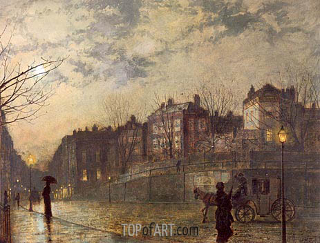 Grimshaw | Hampstead, 1881