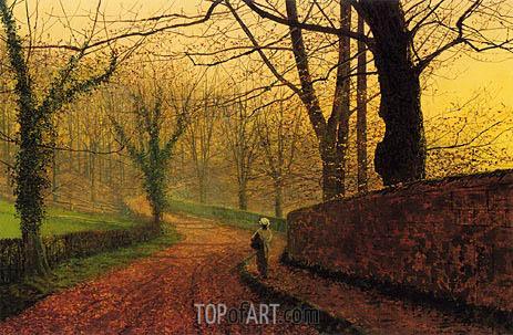 Grimshaw | Stapleton Park near Pontefract, 1882