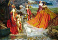 Now is the Pilgrim Year Fair Autumn's Charge | John Byam Liston Shaw