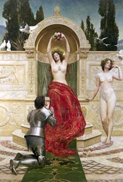 In the Venusburg (Tannhauser), 1901 by John Collier | Painting Reproduction