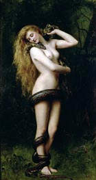 Lilith, 1887 by John Collier | Painting Reproduction