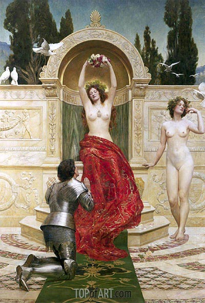 John Collier | In the Venusburg (Tannhauser), 1901
