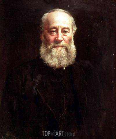 John Collier | Portrait of James Prescott Joule,