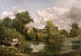 The White Horse, 1819 von Constable | Gemälde-Reproduktion